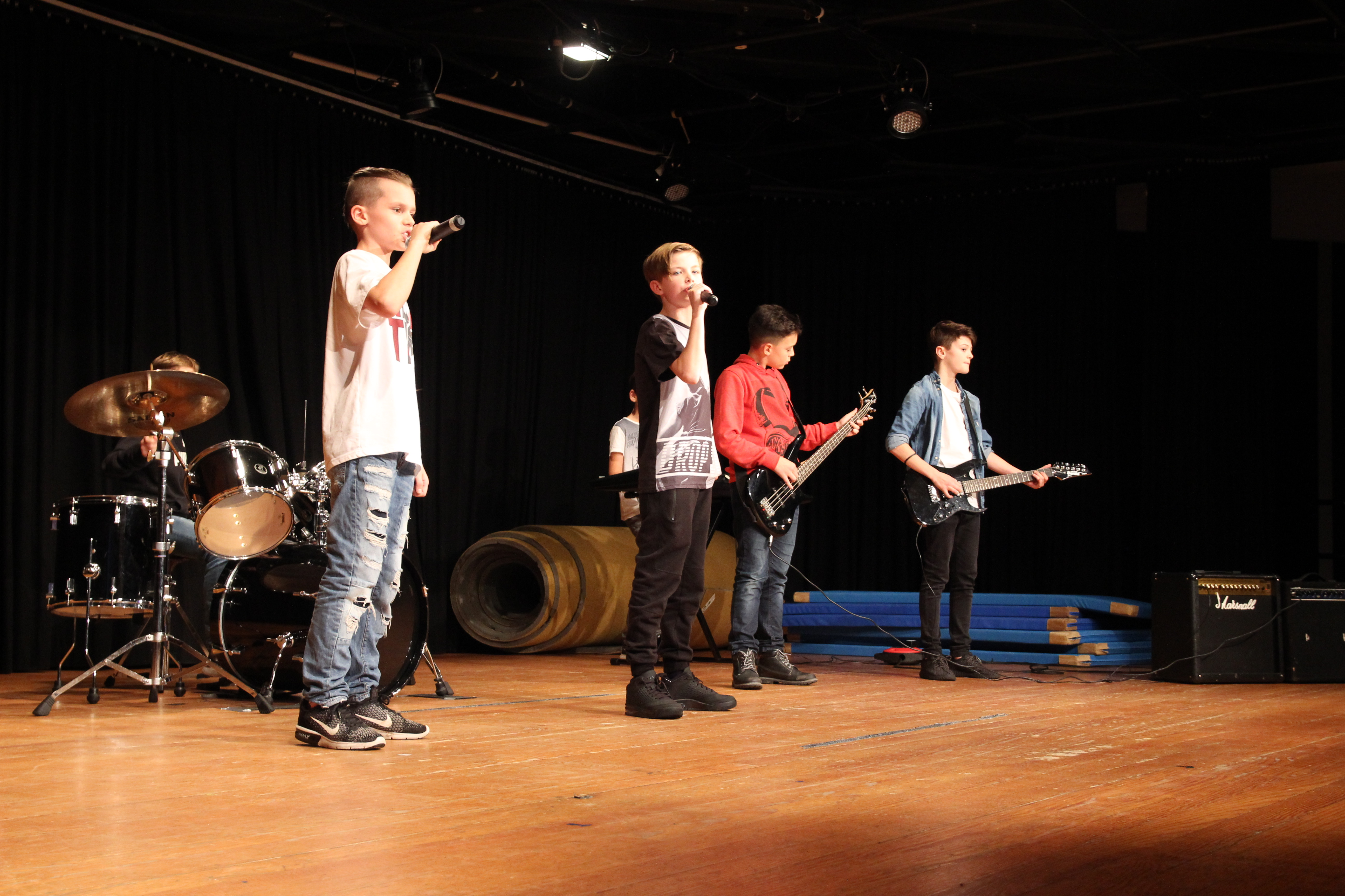 Talentsuche 5-Minuten-Wettbewerb