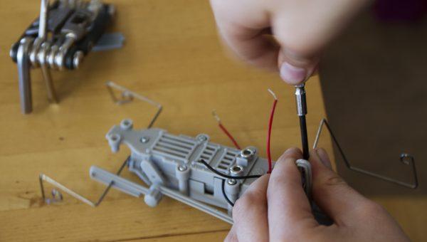 Roboter-AG für Mädchen